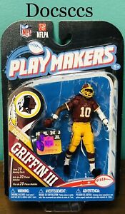 ROBERT GRIFFIN III RG 3 NFL Football Washington Redskins PLAY MAKERS McFarlane