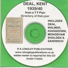 Deal Street Directory 1939 1940 [CD]