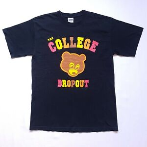 Kanye West The College Dropout Black Cotton Tee Shirt