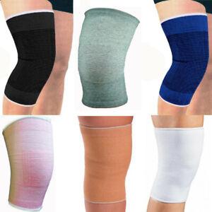 Elasticated Knee Leg Support Compression Bandage Brace Wrap Arthritis Tendinitis