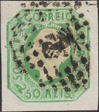 Portugal 1862 50r King Luis sg 33 used
