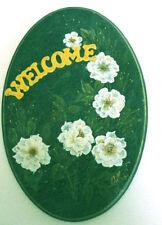 Floral Decorative Door Signs/Plaques