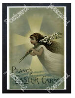 Historic Prang's Easter Cards Advertising Postcard
