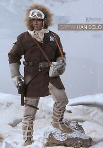 Sideshow CAPTAIN HAN SOLO HOTH BRown JACKET TAUNTAUN 1/6 Exclusive ESB