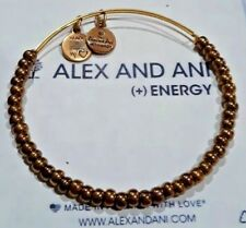 Alex and Ani Copper Sea Bead Russian Gold Expandable Bracelet   ❤️ Rare Retired