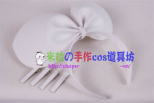 Anime VOCALOID 2 Kagamine Rin Cosplay Prop Headphone + Head Bow + 4 pins Gift