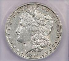 1891-CC 1891 Morgan Silver Dollar S$1 ICG EF45 2nd holder pic missing
