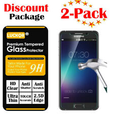 2-Pack For Samsung Galaxy Note 5 N920 Tempered Glass Screen Protector Case US