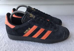 Adidas Mens Gazelle 2019 Brussels C/W Suede Trainers Black Orange Size UK 7