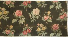 Beautiful 1930's French Printed Floral Cotton Rose Print. (2956)