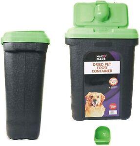 15KG PET DOG CAT ANIMAL DRY FOOD STORAGE CONTAINER BOX BIN WILD BIRD SEEDS BIN