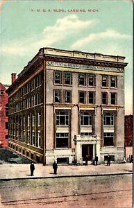 Postcard Y.M.C.A. Building in Lansing, Michigan~134125