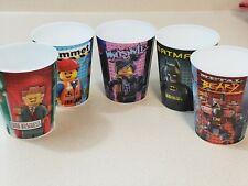 McDonalds Lego Movie Happy Meal Cups