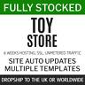 Dropship Toys UK + World | Fully Stocked eCommerce website Store 6w service