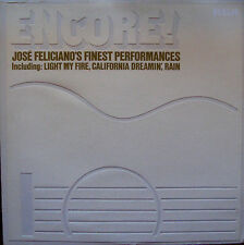 "JOSE FELICIANO""Encore Jose Feliciano's Finest Performances"" RCA LSPX 1005"