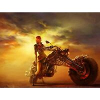 Motorcycle Girl Diamond Painting Full Drill 5D Embroidery Decor Cross Stitch Kit