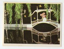figurina TOPO GIGIO ALBI PER LA GIOVENTU' 1975 EDIZIONI PEREGO IMPERIA numero 48