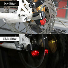 Bike Warning tail Light Rear MTB Cycling Disc Brakes Automatic Control LED lamp