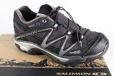 Salomon XT Alas Wp Zapatilla Cordones Zapato Del Deporte Negro Impermeable Nuevo