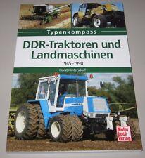 Bildband DDR Traktoren + Landmaschinen 1945 - 1990 Horst Hintersdorf NEU!