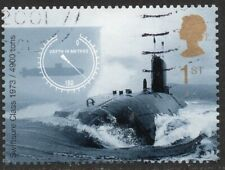 More details for 2001 sg 2207 swiftsure class submarine 1973 self adhesive fine used