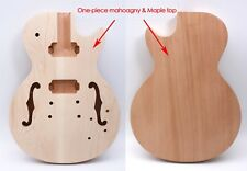 Yinfente Electric Guitar Body One-piece Mahogany Hollow Body Guitar Accessories
