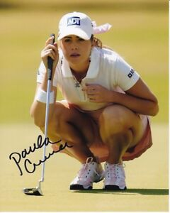PAULA CREAMER signed autographed LPGA GOLF photo