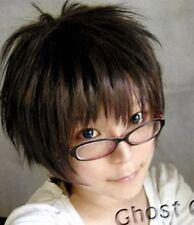AO NO ESORCISTA Okumura Yukio Onodera Ritsu FLIP OUT Cosplay Parrucche Breve