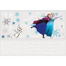 Frozen Custom Headboard Bedroom Elsa Anna Olaf 144-Piece Peel Large Wall Decal