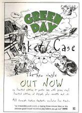 "21/1/95PGN11 SINGLE ADVERT 15X11"" GREEN DAY : BASKET CASE"