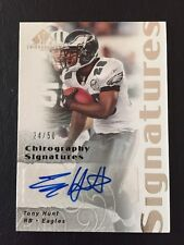 Tony Hunt 2007 SP Chirography Silver Signatures Auto #CS-TH LTD #24/50