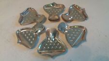 Set of 6 Silver Plate Lemon Squeezers
