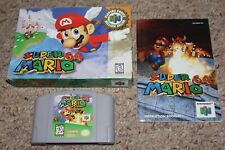Super Mario 64 PC Player's Choice (Nintendo 64 n64) Complete in Box GOOD