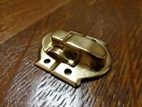 "Vintage Brass Decorative Flip Catch Latch ~ 1"" x 1 1/8"" ~ Restoration Hardware"