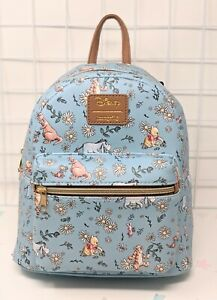 Loungefly Disney Winnie The Pooh Sketch Daisies Mini Backpack