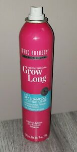 MARC ANTHONY GROW LONG 2-IN-1 DRY SHAMPOO + CONDITIONER MISSING CAP!!