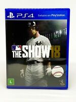 MLB The Show 18 - PS4 - Brand New   Portuguese Cover