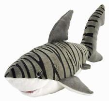 "Tiger Shark soft plush toy 15""/38cm stuffed animal Cuddlekins Wild Republic -NEW"