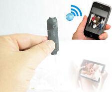 wireless spy IP WIFI network camera hidden nanny MINI DIY micro recorder