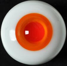 Nice 10mm Glass Eyes(Orange iris&Red pupil) for Joint barbie 1/6 BJD Dollfie