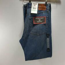Polo Ralph Lauren Mens Jeans RL Relaxed Fit Straight Leg Zip Blue Jeans 34 x 32