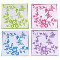 Lovely Flower Butterfly Bathroom Toilet Seat/Fridge Wall Decals Sticker  LI