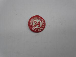 Northfield Park Racetrack Box Area 1967 Tin Lapel Pin Badge