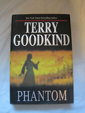 Phantom by Terry Goodkind~Book 10 Sword of Truth SOT~HC w/dj~1st Ed/pr~LBDAM