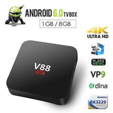 Home Theater V88 RK3229 Smart TV Set-Top Box Player 4K Quad-Core 8GB WiFi M U8X7