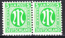 BIZONE 1945 Mi. Nr. 3 Postfrisch Paar TOP!!! (14006)