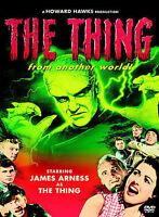The Thing -Warner DVD-Region 1-Snapper Case-James Arness-Howard Hawks