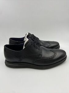 Cole Haan Mens Original Black Dress Shoes Size 12 W , 602