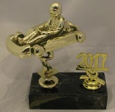 Go Cart Figurine Trophy with Year 160mm Engraved FREE