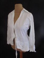 Chemise La Fée Maraboutée  Blanc Taille 38 à - 57%